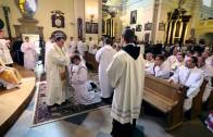 Łódź-Łagiewniki: święcenia u franciszkanów 2012