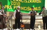 Transitus u franciszkanów w Wilnie 2013