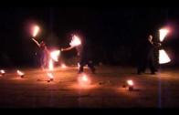 Wołczyn w Krakowie 2010 – pokaz ogniowy
