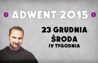 Adwent 2015 – Dzień 18