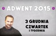 Adwent 2015 – Dzień 5